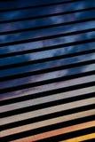 Le ciel en dehors de la fenêtre Images stock