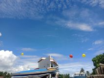 Le ciel est ciel photographie stock libre de droits