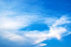 Le ciel et les nuages Image stock