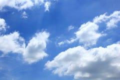 Le ciel et les nuages Photo libre de droits