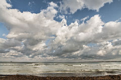 Le ciel et les nuages Images libres de droits