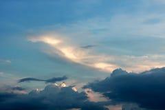 Le ciel et pourrait Photographie stock