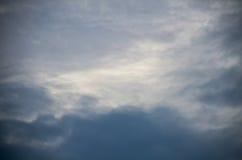 Le ciel pendant le matin Photographie stock libre de droits