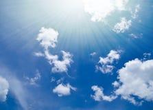 Le ciel pendant le matin Image libre de droits