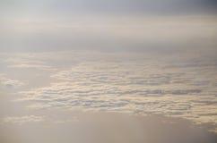 Le ciel pendant le matin Images libres de droits