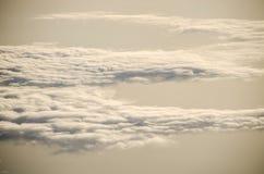 Le ciel pendant le matin Photographie stock