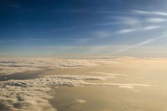 Le ciel pendant le matin Image stock