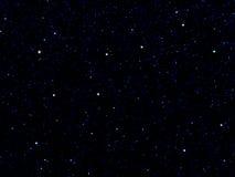 Le ciel stars la constellation Images libres de droits