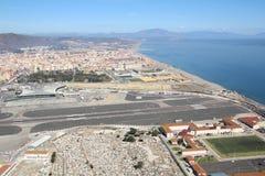 Le cimetière de guerre du Gibraltar Photos libres de droits