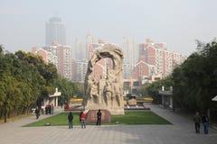 Le cimetière des longs martyres de Hua Photos libres de droits