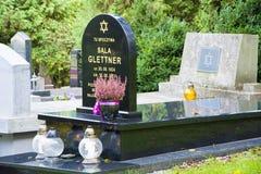 Le cimetière juif Photos libres de droits
