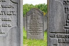 Le cimetière juif Diemen Photographie stock libre de droits