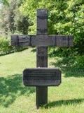 Le cimetière militaire allemand de Costermano, Italie image libre de droits