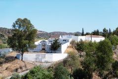 Le cimetière municipal d'Alcoutim image libre de droits
