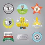 Le cinéma marque la collection Images libres de droits