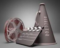 Le cinéma rétablissent illustration stock