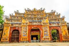 Le Cité interdite chez Hue, Vietnam images libres de droits