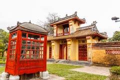 Le Cité interdite chez Hue, Vietnam images stock