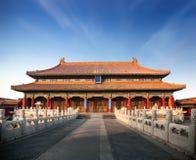 Le Cité interdite dans Pékin Images libres de droits