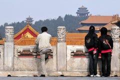 Le Cité interdite dans Pékin Chine Images stock