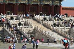 Le Cité interdite de Pékin Photographie stock libre de droits