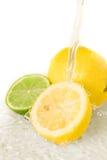 le citron s'est mélangé Photos libres de droits
