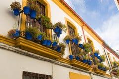 Vie in un villaggio bianco di Andalusia, Spagna del sud Fotografie Stock