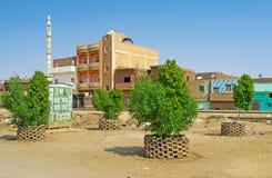 Le città dell'Egitto superiore Fotografie Stock
