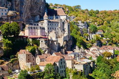 Le Citte antique de Rocamadour Photos stock