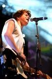 Le civette (banda rock di schiocco di Britannici) al festival di schiocco di Primavera Fotografie Stock