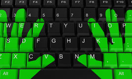 Le clavier Image stock