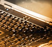 Le clavier d'ordinateur Image libre de droits