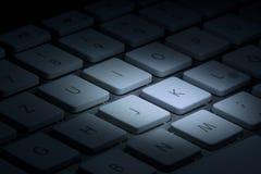 Le clavier d'ordinateur Photographie stock libre de droits