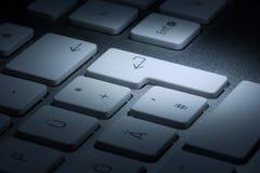 Le clavier d'ordinateur Images stock