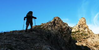 Le climb_001 Photos libres de droits