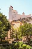 Le cloître de San Gregorio Armeno, Naples images stock