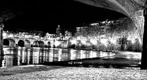 le clocher et l'Amedeo d, aosta le pont Photos libres de droits