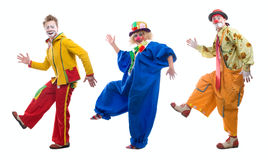 Le clown Photo stock