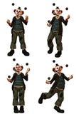 Le clown 2 illustration de vecteur