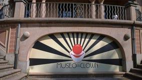Le clown Museum dans les Imperia image libre de droits