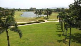 Le club de golf détendent en Thaïlande Photos stock