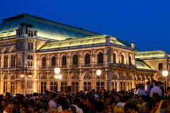 Le club provisoire de mercredi pour Art Lovers And Friends Party chez Albertina Museum In Vienna Photos libres de droits