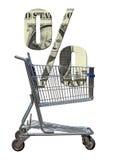 Le coût d'argent Image libre de droits