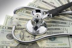 Le coût de soins de santé Photos stock