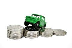 Le coût de la voiture Photo libre de droits