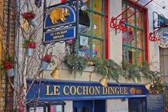 Rue du Petit-Champlain, Quebec City, Canada Stock Image
