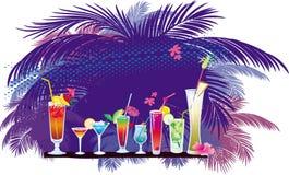 Le cocktail illustration libre de droits