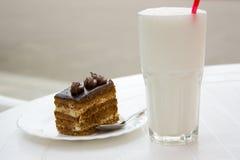 Le cocktail de lait Photographie stock