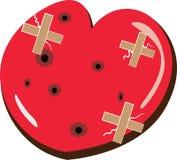 Le coeur blesse l'illustration Photographie stock libre de droits