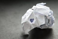 Le coeur brisé. Photos libres de droits